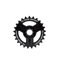 The Shadow Conspiracy Motus 19mm BMX Sprocket - 28T Black Bike Sprocket