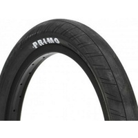 "Primo Stevie Churchill Signature 20"" x 2.45"" BMX Tyre - Black Bike Tire"