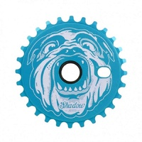 The Shadow Conspiracy Jesco BMX Sprocket - 25T Polar Pop Blue Bike Sprocket