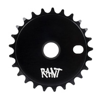 Rant Stick Em BMX Sprocket - 25T - Black Bike 3 Extra Decal Sprocket
