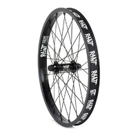 RANT Party On V2 Rear BMX Cassette 36H Wheel - Black RHD 9T Rear Wheel only