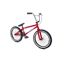 Forgotten Misfit Complete Bike - Gloss Red W/White Wall Tyres - 2019
