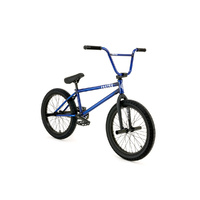 "Fly Bikes Proton CST BMX Bike 21"" LHD - Gloss Trans Dark Blue - 2019"