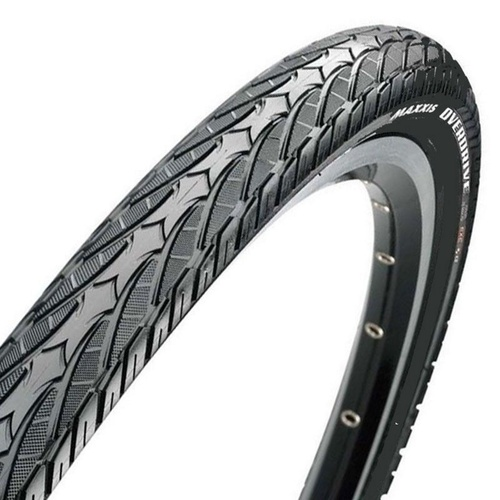 2 x Maxxis Overdrive Road / Hybrid Bike Tyres 700 x 38C